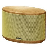 AULUXE Aurora Wood [AW1010W] - Yellow - Speaker Bluetooth & Wireless